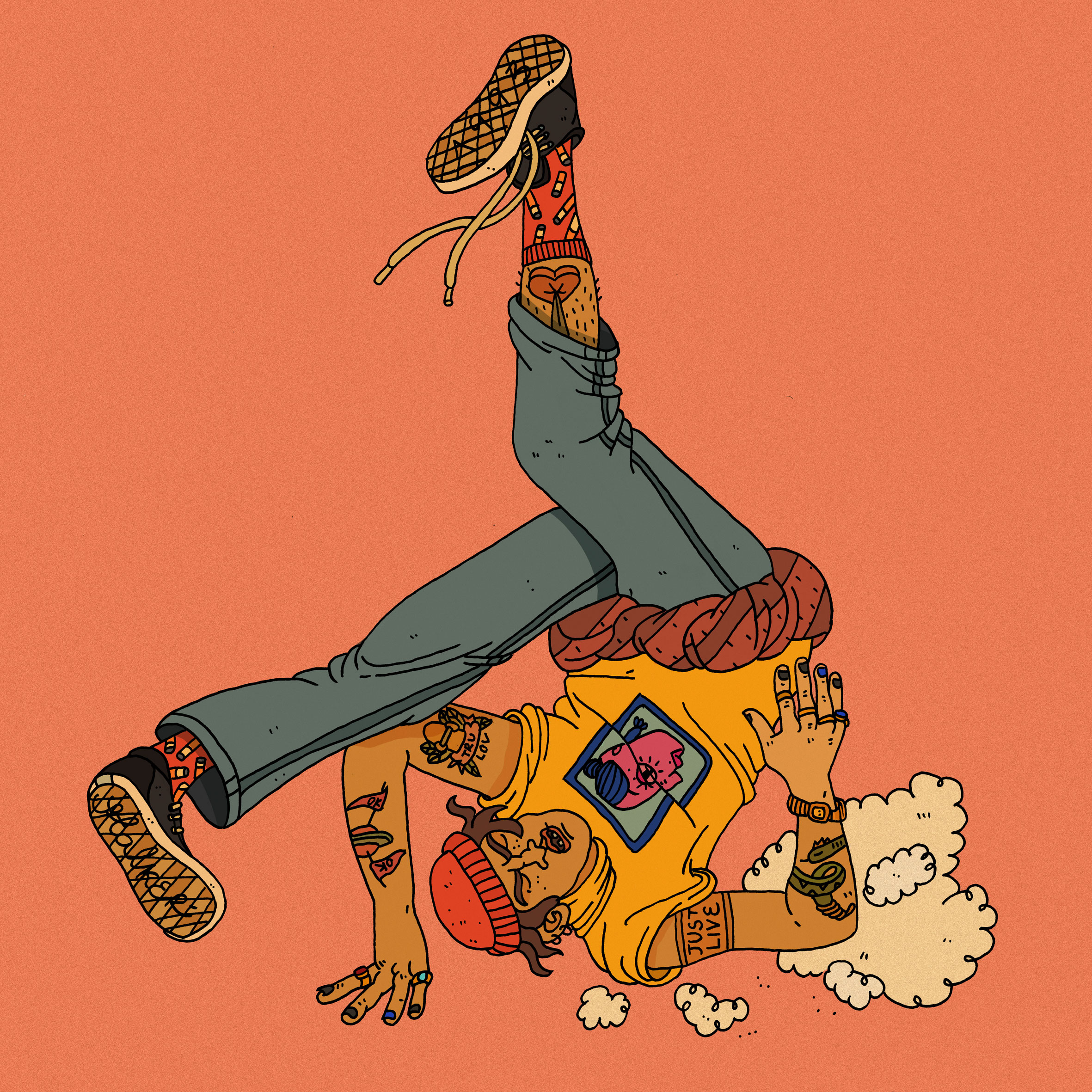 I'm Fallin for you, Skateboarding